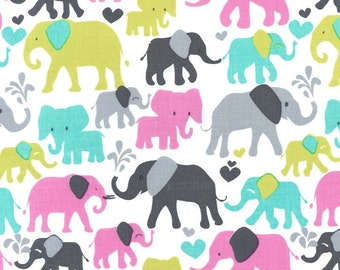 SALE! 1/4m Elephant Walk Orchid - Michael Miller