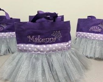 Purple Sophia the First type tutu bag