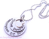 LDS Sister Missionary Personalized Jewelry Necklace Mormon Called to Serve