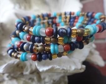 Viking Seed Bead Bracelet - #B-SB6