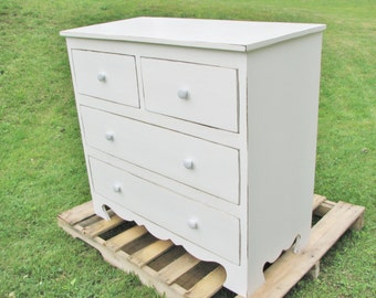 Dresser, Drawer Chest, Distressed, Rustic, Decorative base, almost any color you want