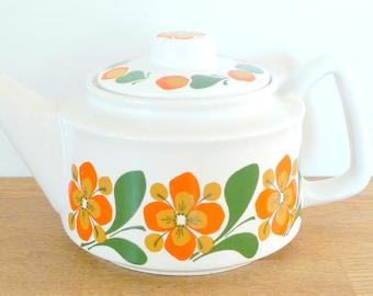 Scandinavian Teapot - Vintage Stavangerflint Design June Rolf Froyland 1960s Norway