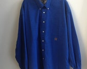 Tommy Hilfiger Royal Blue Shirt