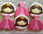 Princess Cookie Favors