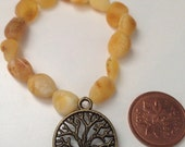 Baltic Amber bracelet without charm