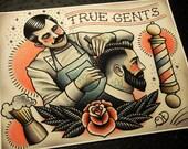 True Gents Tattoo Print