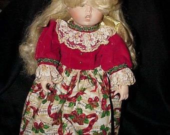 Musical Goebel Angel Doll 1994 Limited Edition