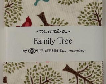 FAMILY TREE Charm Pack by Deb Strain for Moda