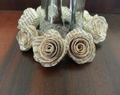30 x Small Book Page Roses plus express