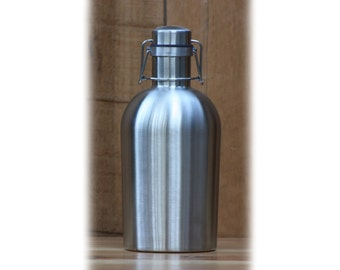 SS Growler® - Stainless Steel Beer Growler, great for craft brew, wine, coffee, gift...