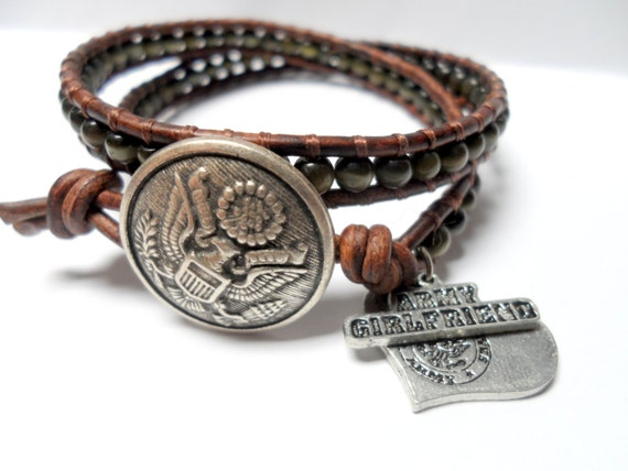 army wrap bracelet donate to the wounded