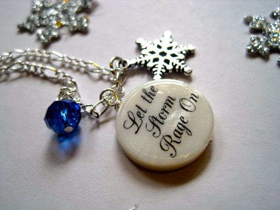 Frozen Inspired Necklace Frozen Inspired Elsa Necklace