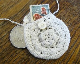 Crochet Medicine Bag Pattern : Popular items for crochet keepsake on Etsy