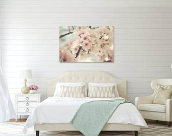 Divinity - GALLERY WRAP Canvas - Cherry Blossom, Spring, Washington, D.C., Cottage, Shabby, Photography, Decor, Nursery, Baby,