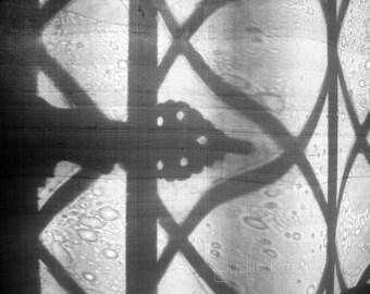Shadows Print - Old Window Fine Art Photograph - 8x10
