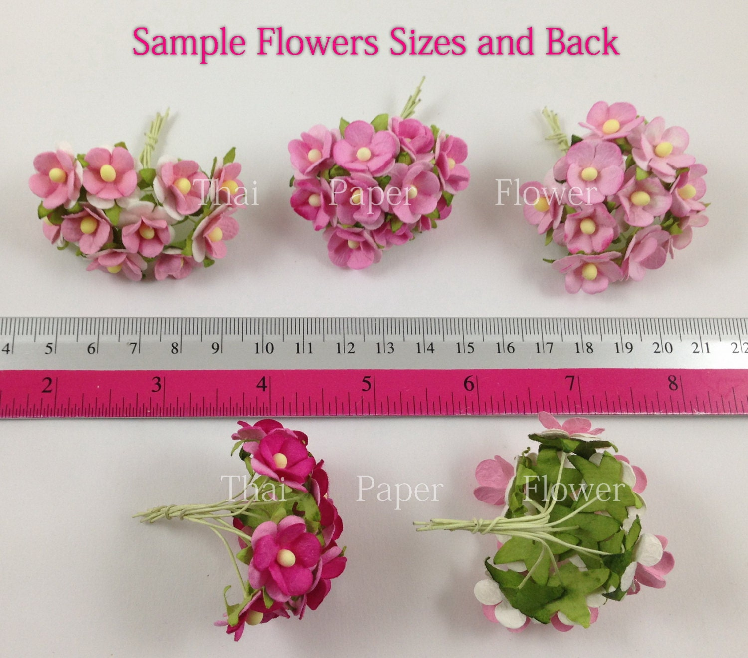 Small paper flowers craft -  29 99