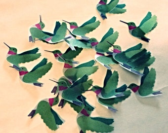 Vellum Hummingbirds