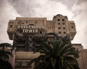 Tower of Terror Disneyland Resort - Halloween decor - lustre photo print