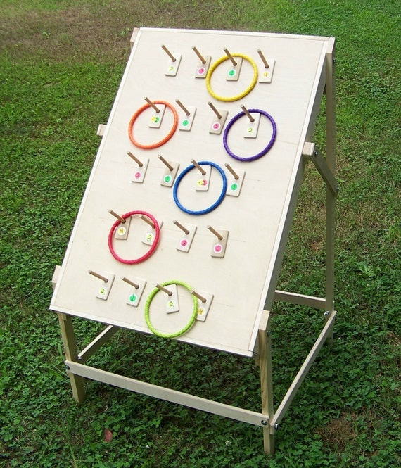 Ring Toss Game For Adults And Children By WoodGamesPlus On