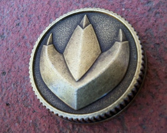 Dragon Power Coin Prop Ranger Cosplay Legacy Morpher Functional Weathered