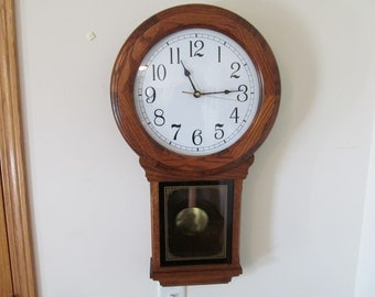 Items Similar To Sterling Amp Noble Chiming Regulator Wall