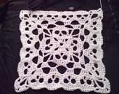 PDF  Creepy Granny  Skull Infinity Square  Crochet  Pattern