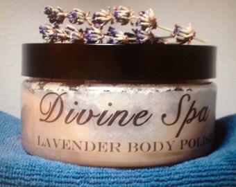 Organic Lavender Sugar Scrub