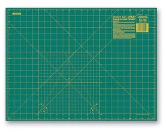 OLFA (RM-SG) 18 X 24 Green Rotary Mat #9881