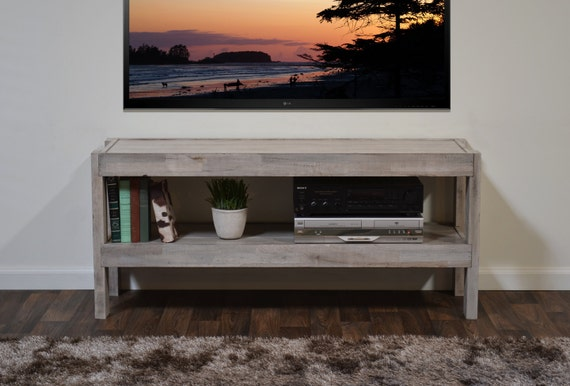 Reclaimed Media Stand Beach House Tv Console By Woodwavesinc