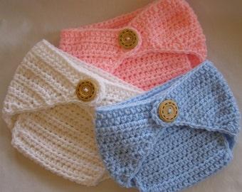 PATTERN Diaper Cover - Crochet