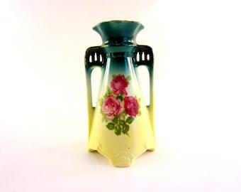 Vintage Czechoslovakian Vase