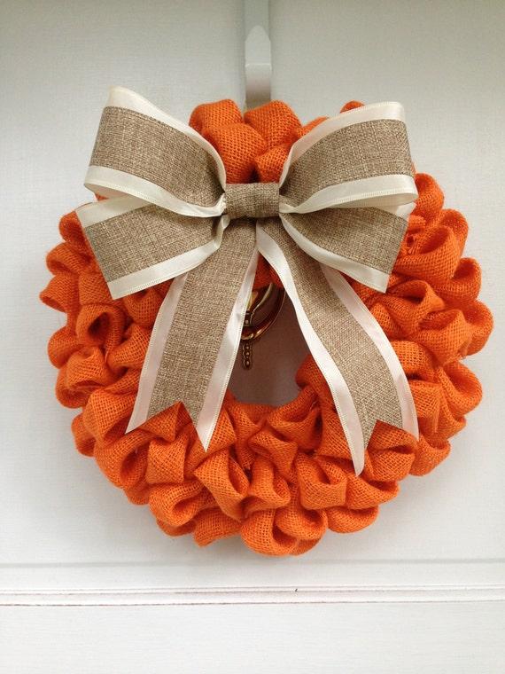 Diy Wreath Burlap