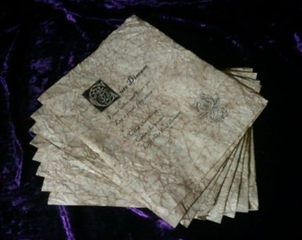 Wizard Spell Book Pages - Health and Restoration Spells