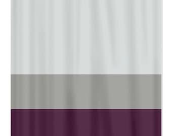 quatrefoil shower curtain-purple-teal-pool pattern-customize