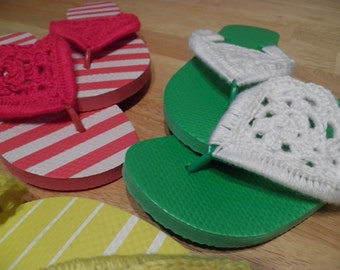 PATTERN ONLY...Flip Flop Sandal PDF  Pattern Only