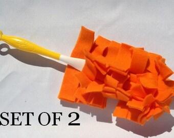 Reusable Swiffer Duster SET OF 2 - Orange,Lime, Red, Light Blue, Purple, Navy, Pink