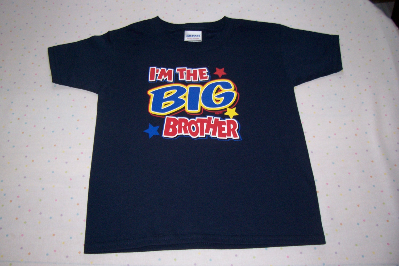 Toddler shirt big brother shirt toddler by babyhuggsandkisses for Big brother shirts for toddlers carters