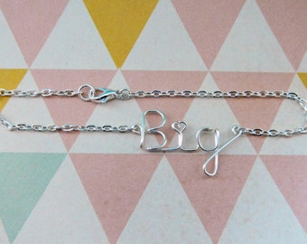 Sorority Big Sister Bracelet