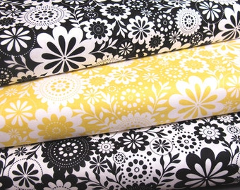 Evening Blooms Floral by Carina Gardner for Riley Blake - Fat Quarters
