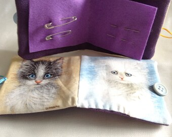 Kittens needle case