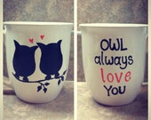 Owl coffee mug