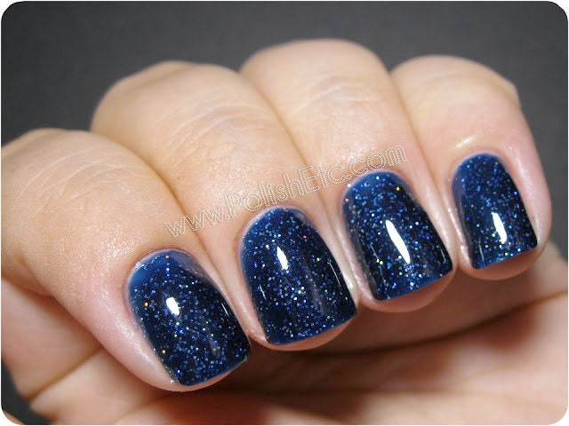 Navy Blue Acrylic Nails - Nails Gallery
