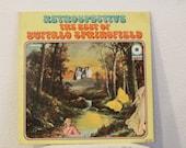 """Buffalo Springfield - """"Retrospective - The Best Of Buffalo Springfield"""" vinyl record (NT)"""