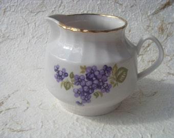 Vintage Soviet Porcelain Creamer Made in USSR in 1970s
