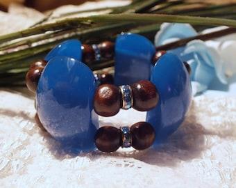 Flavorful Beaded Bracelet