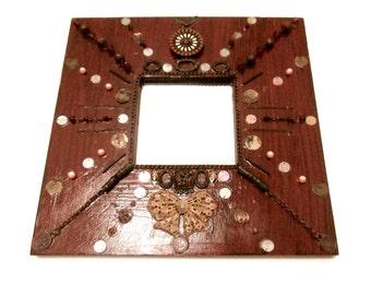 Mosaic Mirror - Decorative Mirror - Mosaic Jewelry - Small Mirror
