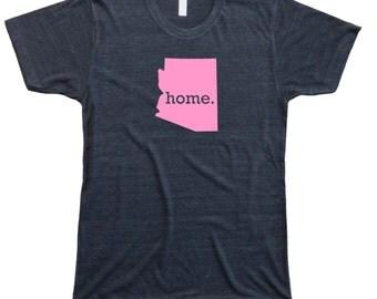 Homeland Tees Men's Arizona Home T-Shirt PINK EDITION
