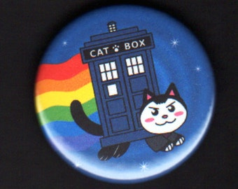 1.75 inch Ninth Nyan Doctor Button