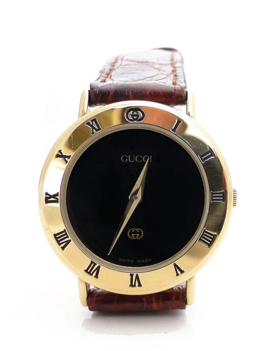 Gucci Gold Plated Ladies Watch Sale Vintage Ladies Gucci Gold
