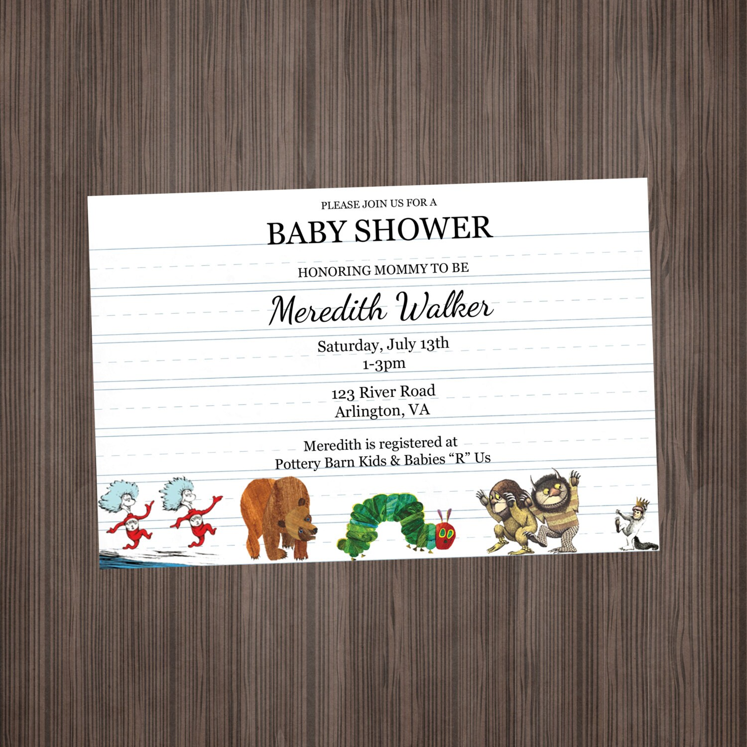 storybook themed baby shower invitation wording 2 - 28 images ...
